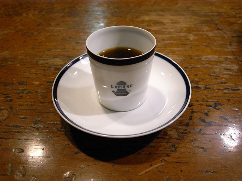 ブレンドコーヒー ドゥミ・タッス シングル ¥760
