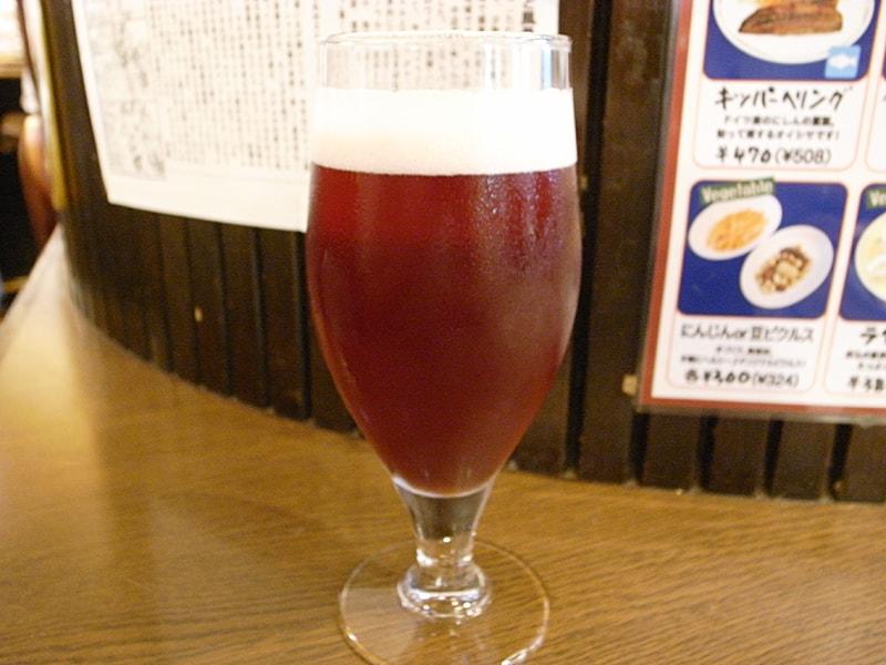 木内酒造コラボビール「チェリーゴーゼ」グラス ¥626