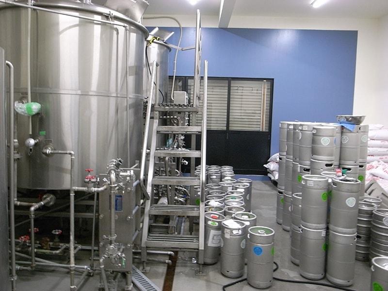 醸造所内部