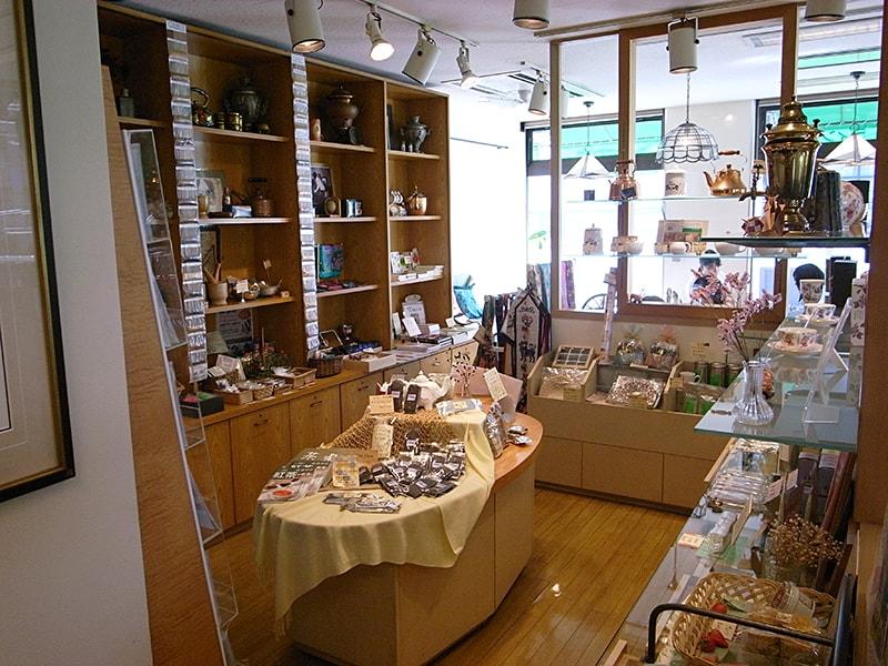 店内の販売スペース